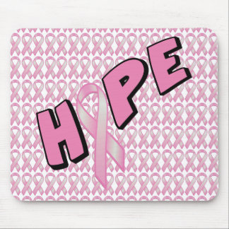 Breast Cancer Hope Mouse Pads