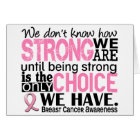 Breast Cancer How Strong We Are