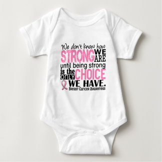 Breast Cancer How Strong We Are Baby Bodysuit