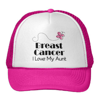 Breast Cancer I Love My Aunt Mesh Hat
