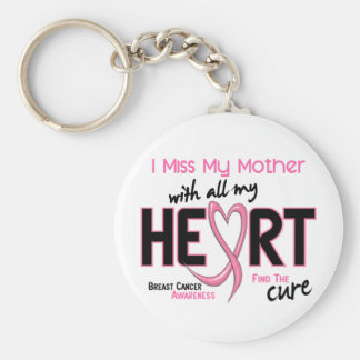 Breast Cancer I Miss My Mother Key Ring