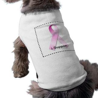 Breast Cancer i-Support Sleeveless Dog Shirt