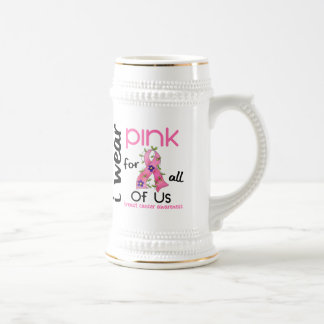 Breast Cancer I WEAR PINK FOR ALL OF US 43 Coffee Mug