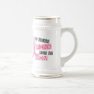 Breast Cancer I Wear Pink For My Mom 37 Mug