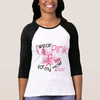 Breast Cancer I WEAR PINK FOR MY MOM 45 T-shirts