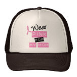 Breast Cancer I Wear Pink For My Mum Cap