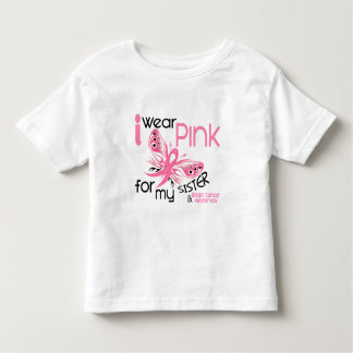 Breast Cancer I WEAR PINK FOR MY SISTER 45 Toddler T-Shirt