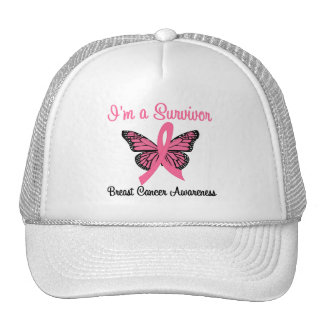 Breast Cancer I'm a Survivor Hats