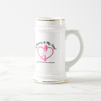 Breast Cancer In Memory of My Friend Coffee Mugs