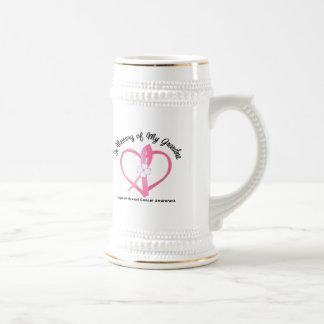 Breast Cancer In Memory of My Grandma Coffee Mug