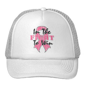 Breast Cancer In The Fight To Win Trucker Hats