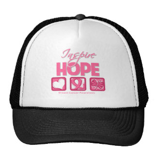 Breast Cancer Inspire Hope Trucker Hats