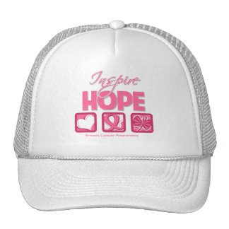 Breast Cancer Inspire Hope Hat
