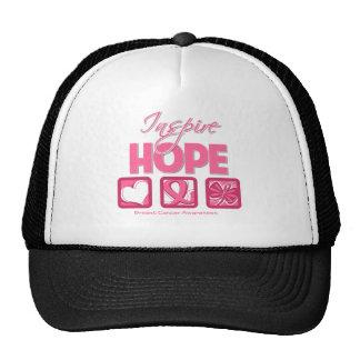 Breast Cancer Inspire Hope Trucker Hat