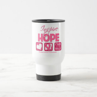 Breast Cancer Inspire Hope Mugs