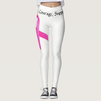 Breast Cancer Leggings
