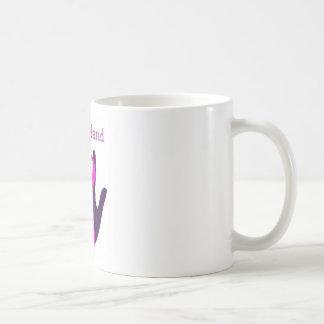 Breast Cancer - Lend a Hand Basic White Mug