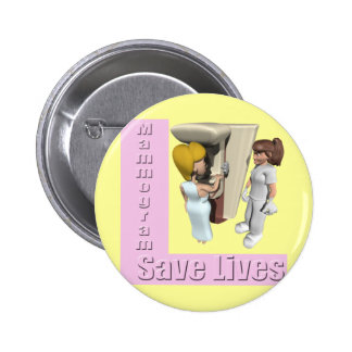 Breast Cancer Mammogram Buttons