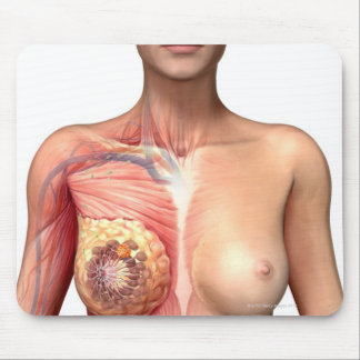 Breast cancer mouse mat