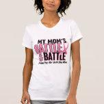 Breast Cancer My BATTLE TOO 1 Mum Tee Shirt