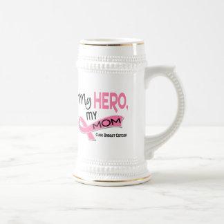 Breast Cancer MY HERO MY MOM 42 Mugs