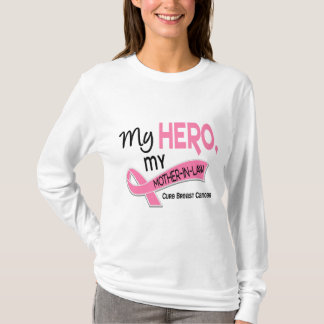 Breast Cancer MY HERO, MY MOTHER-IN-LAW 42 T-Shirt