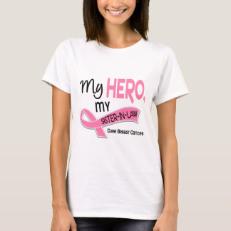 Breast Cancer MY HERO, MY SISTER-IN-LAW 42 T-Shirt
