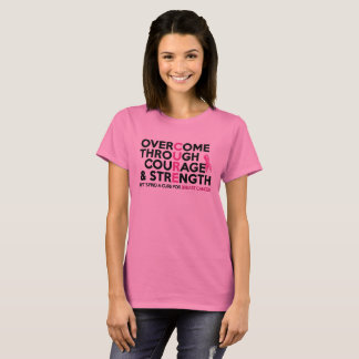 Breast Cancer October Pink Awareness Ribbon TShirt