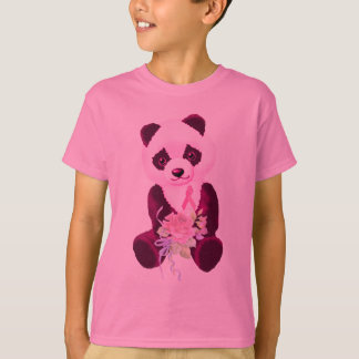 Breast Cancer Panda Bear T-Shirt