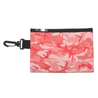 Breast Cancer Pink Camo Accessory Bag
