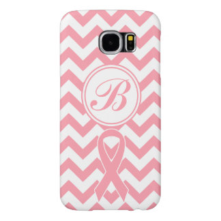 Breast Cancer Pink Chevron customizable Phone Case