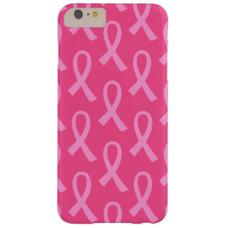 Breast Cancer Pink Ribbon Pattern Barely There iPhone 6 Plus Case