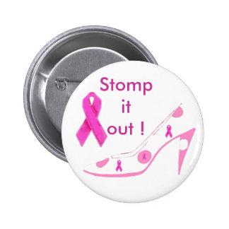 Breast Cancer Pink Ribbon Pins