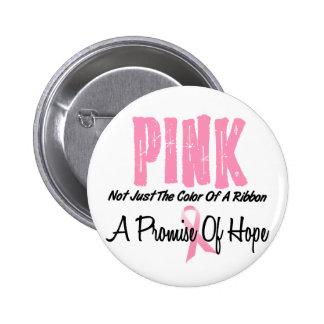 Breast Cancer Pink Ribbon Symbol of Hope 6 Cm Round Badge
