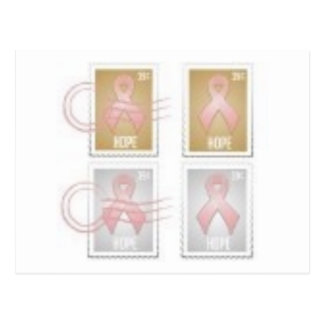 breast cancer postcard