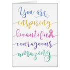 Breast Cancer – Remember Who You Are