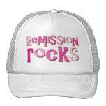 Breast Cancer Remission Rocks Hats
