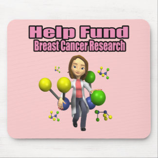 Breast Cancer Research Mousepad