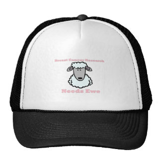 Breast Cancer Research Needs Ewe Trucker Hats