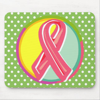 Breast Cancer Ribbon Mousepad