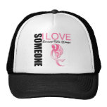 Breast Cancer Someone I Love Earned Her Wings Cap