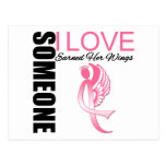 Breast Cancer Someone I Love Earned Her Wings Post Cards