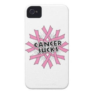 Breast Cancer Sucks iPhone 4 Case-Mate Cases