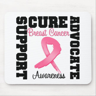 Breast Cancer Support Advocate Cure Mouse Mats