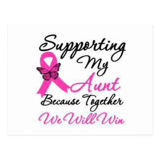Breast Cancer Support (Aunt) Post Card
