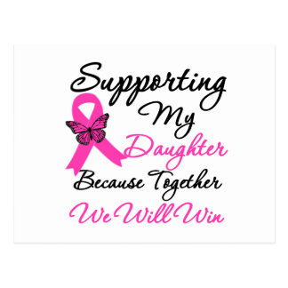 Breast Cancer Support Daughter Postcards