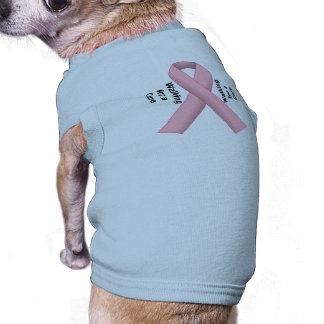 Breast Cancer Support Dog Clothes