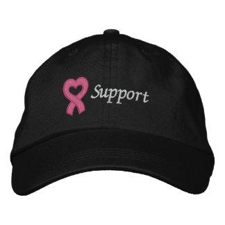 Breast Cancer Support Baseball Cap