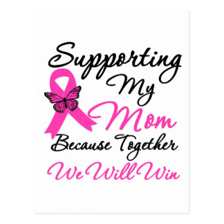 Breast Cancer Support Mom Post Cards