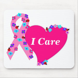 Breast Cancer Support Mouse Pad